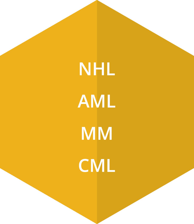 NHL, AML, MM, CML
