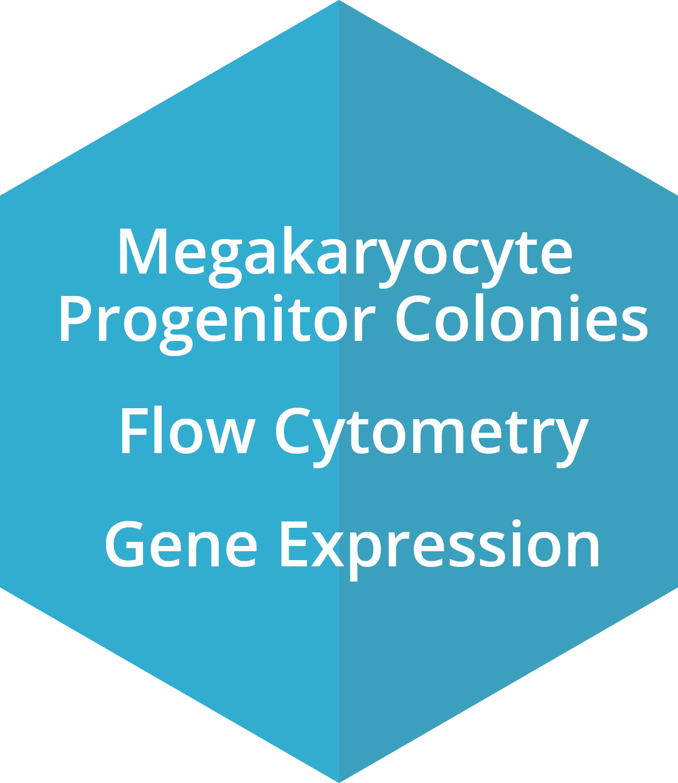 Megakaryocyte Progenitor Colonies, Flow Cytometry, Gene Expression